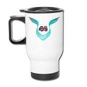 Lvyezi Lewis Hamilton Wins Fourth British Grand Prix 2016 Travel-mug(tasses à Café) White