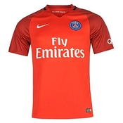 2016-17 Psg Away Football Soccer T-shirt Maillot (hatem Ben Arfa 21)