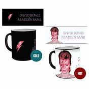 Gb Eye Ltd Go Eye, David Bowie, Aladdin Sane, La Chaleur Changement Mug, Divers, En CÉramique, 15 x 10 x 9 cm