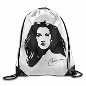 Ntpclsuits Celine Dion Gym Drawstring Bags Backpack
