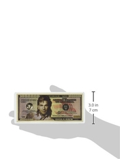 Patrick Swayze $million Dollar$ Novelty Bill Collectible By Patrick Swayze Collectibles