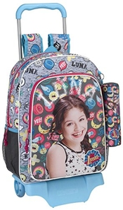 Soy Luna Athletic Cartable, 42 Cm, Gris