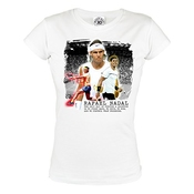 Rule Out Women T-shirt. Femmes. tennis Champions. Rafael Nadal. Tennis Player. Training. Sportswear. casual