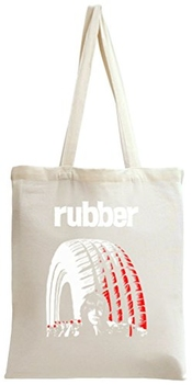 Rubber Movie Poster Tote Bag