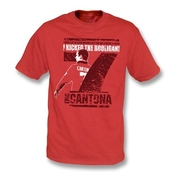 Punk Football Eric Cantona ? i Le Palais Des Hooligan T-shirt