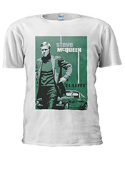 Bullitt Steve Mcqueen Ford Mustang Novelty Men Women Unisex Top T Shirt-4xl