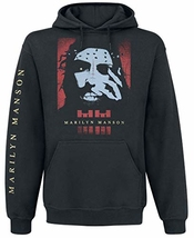 Marilyn Manson Rebel Sweat-shirt à Capuche Noir