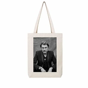 Access-mobile-ile-de-re.fr Tote Bag En Toile Recycle Natural Johnny Hallyday 16
