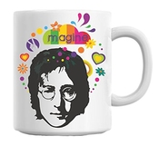 John Lennon Imagine Art Mug Cup
