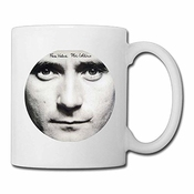 Cool 1981 Face Value Phil Collins Ceramic Coffee Mug, Tea Cup | Best Gift For Men, Women And Kids - 11 Oz, White