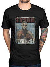 Official Mike Tyson Vintage Poster T-shirt