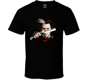 Delifhted Sweeney Todd Johnny Depp Tim Burton Movie T Shirt