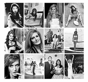 Calendrier Mural 2020 [12 Pages 20x30cm] Dalida French Chanson Music Vintage Magazine Cover Photo Affiche