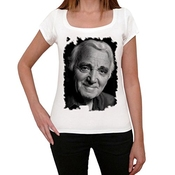 One In The City Charles Aznavour,tshirt Femme, T Shirt Photo, T Shirt Cadeau