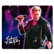 Johnny Hallyday [p9987] - Tapis De Souris 'johnny Hallyday' Micro - 21x17.5 Cm