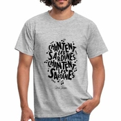 Patrick Sébastien Les Sardines Paroles T-shirt Homme