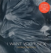George Michael I Want Your Sex + Poster 1987 Uk 12
