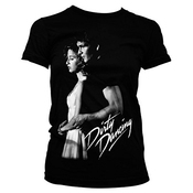 Tee Shack Ladies Dirty Dancing Baby Patrick Swayze Officiel Femmes Dames T-shirt (large)