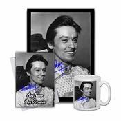 Star Prints Uk Alain Delon 1 Gift Set Bundle 2019 - Large 11cm Mug, A4 Framed Poster And Matching Birthday Or Christmas Card (no Personalised Card)