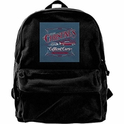 Sac D'École Stephen King Christines Custom Cars Student Canvas Backpack Bookbag Durable Casual Daypack Imprimé Imprimer Universal Travel School