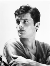 Poster 30 X 40 Cm: Alain Delon De Everett Collection - Reproduction Haut De Gamme, Nouveau Poster
