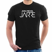 Dianxiaoerr Homme Jean Michel Jarre Logo Easy Short Sleeved Manches Courtes/t-shirt Large