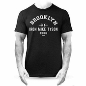 Générique Fer Mike Tyson Brooklyn Boxe T-shirt Premium Noir - Noir, Large