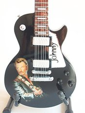 Guitare Miniature Hommage Johnny Hallyday