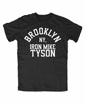 Brooklyn Iron Mike Tyson T-shirt Mens Round Neck Short Sleeves Cotton Tee Shirt Bottoming T Shirt Fashion Tops Clothing