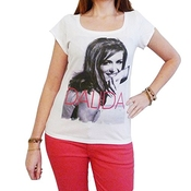 One In The City Dalida : T-shirt Femme,blanc, S, T Shirt Femme,cadeau