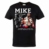 Rule Out Hommes T-shirt. Mike Tyson. Boxing Champion. Boxe. Casual Wear (taille Xlarge)