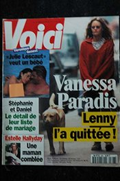 Voici 396 1995 Juin Cover Vanessa Paradis Julie Lescaut Veronique Genest Topless Estelle & David Hallyday