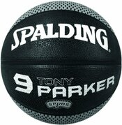 Spalding Player-ball Tony Parker Ballon De Basketball Mixte Adulte Noir 7