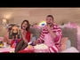 VIDEO : La pyjama party de Barbara Opsomer et Jeremstar